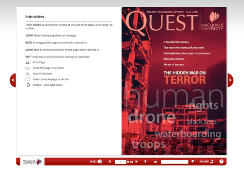 eQuest Issue 4, 2011